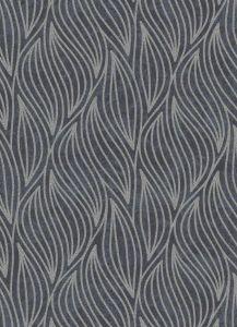 Carat Glitter Wave Wallpaper Charcoal & Black