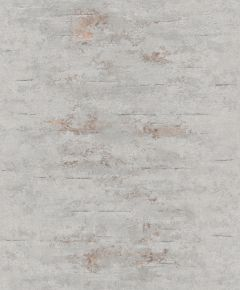 Gravity Stone Effect Textured Metallic Wallpaper Grey & Rose Gold