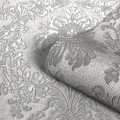 San Remo Damask Wallpaper Grey