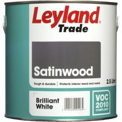 Leyland Trade Satinwood Paint