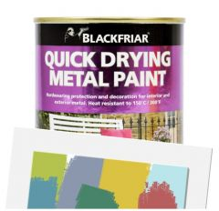 BlackFriar Quick Dry Metal Paint