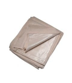 Poly Backed Cotton Dust Sheet