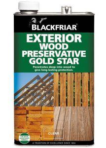 Blackfriar Wood Preservative Gold Star (Old Formula)