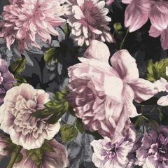 Secret Garden Wallpaper Pink & Black