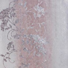 Sienna Metallic Floral Trail Wallpaper Blush Pink