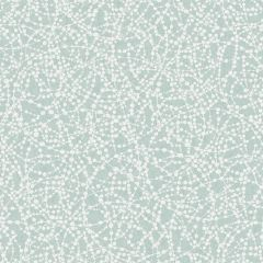 A swirl glitter wallpaper with circular swirls featured throughout a soft teal background.