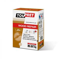 Toupret Wood Repair Fast Drying Filler 1kg