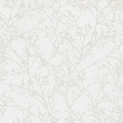 Glittering Tranquility Tree Wallpaper Beige