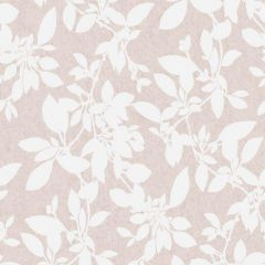 Linden Floral Sparkle Wallpaper Blush Pink