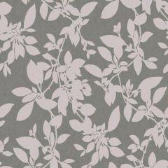 Linden Floral Sparkle Wallpaper Charcoal & Blush
