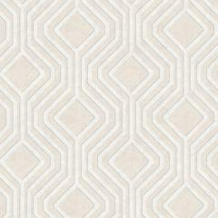 Sequin Geo Wallpaper Cream