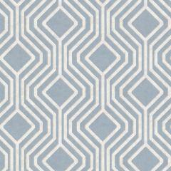 Sequin Geo Wallpaper Blue