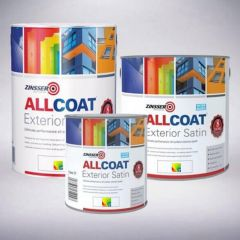 Zinsser AllCoat® Interior & Exterior - Colour Match *1L Matt & Satin Finish Pale Colours - Out of Stock*