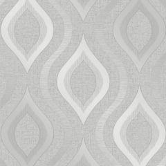 Quartz Geo Wallpaper Silver