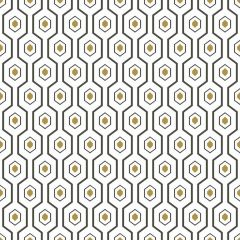 Ashton Geometric Hexagon Wallpaper