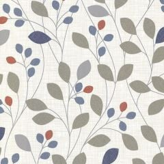 Isla Floral Wallpaper Navy