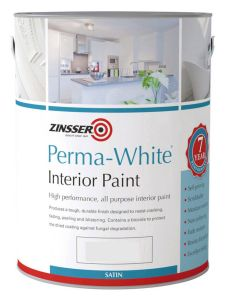 Zinsser Perma-White® Interior Satin - Colour Match