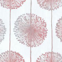 Dandelion Floral Wallpaper Raspberry