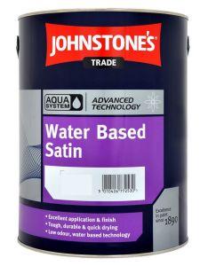 Johnstones Trade Aqua Water Based Satin - Colour Match