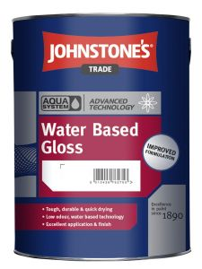 Johnstones Trade Aqua Water Based Gloss - Colour Match