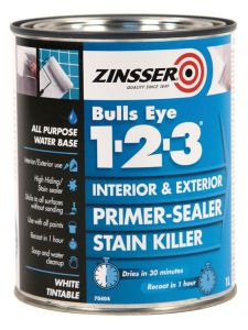Zinsser Bullseye® 1-2-3 Primer - Colour Match