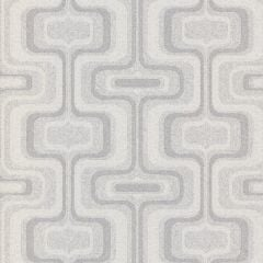 San Remo Retro Glitter Wallpaper Grey