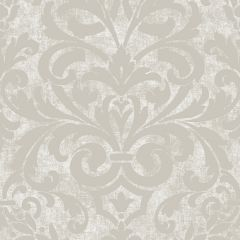 Collingwood Metallic Damask Wallpaper Cream