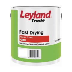 Leyland Fast Drying Gloss Brilliant White
