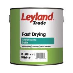 Leyland Fast Drying Satin Brilliant White