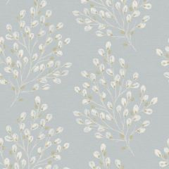 Rustic Willow Wallpaper Duck Egg