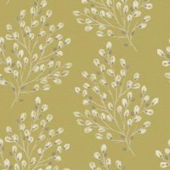 Rustic Willow Wallpaper Mustard