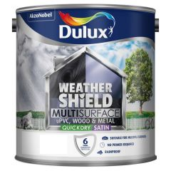Dulux Weathershield Quick Dry Exterior Wood & Metal Paint