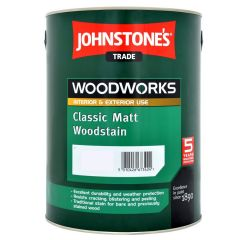 Johnstone's Trade Classic Matt Woodstain for Exterior Wood