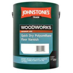 Johnstones Trade Quick Dry Polyurethane Floor Varnish