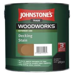Johnstone's Trade Woodworks Decking Stain 2.5L
