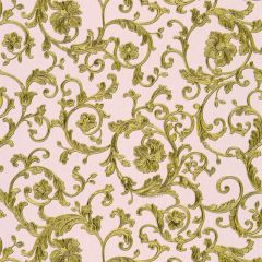 Versace Barocco Floral Wallpaper Blush Pink