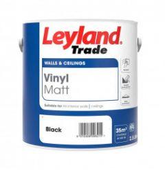 Leyland Trade Vinyl Matt Black 2.5L