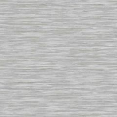 Non-Woven Striped Wallpaper Grey
