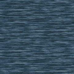 Non-Woven Striped Wallpaper Blue