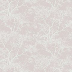 Whispering Tree Wallpaper Dusky Pink