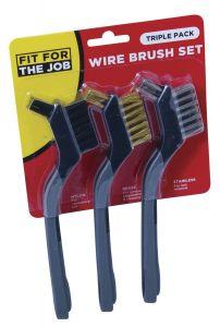 Wire Brush Set (3 pack)