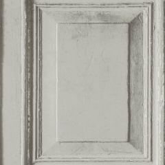 Wood Panels Faux Effect Wallpaper Grey