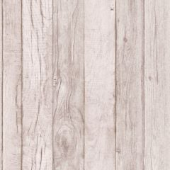 Wood Panelling Effect Wallpaper Taupe