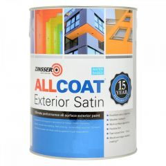 Zinsser AllCoat® Interior & Exterior Satin - Colour Match *No 5L Pale colours*