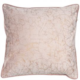 Malini Crackle Blush Cushion
