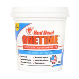 Beeline Red Devil One Time Lightweight Ready Mixed Filler 0.5L