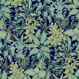 Calathea Leaf Wallpaper Teal