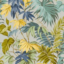 Liane Tropicale Wallpaper Grey