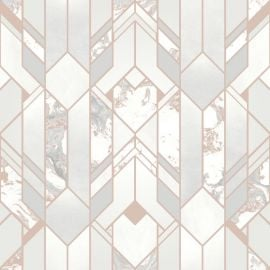 Elixir Geometric Marble Effect Wallpaper
