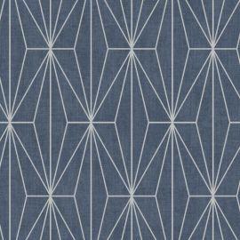 Aspen Geo Metallic Wallpaper